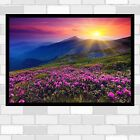 nature mountain magic landscape poster print wall art  in sizes  A1 A2 A3 A4