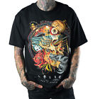 SULLEN ARTISTIC DREAM NAUTICAL SKULL TATTOO MACHINE BLACK T SHIRT S-3XL