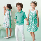 Girl Kids Dress Girl's Satin Special Occasion Fashion Floral Dresses 3 4 5 6 7 8