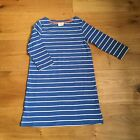 GIRLS BNWOT EX MINI BODEN STRIPE TUNIC DRESS WITH POCKETS 5-6 Yrs