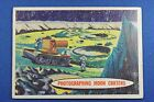 1957 Topps Space Cards #45 Photographing Moon Craters - Good/VG Condition