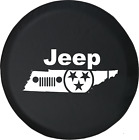 Jeep Grill Tennessee Tenn Stars Edition Spare Tire Cover OEM Vinyl