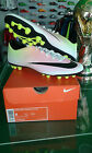 NIKE SCARPE SHOES CALCIO MERCURIAL VICTORY V AG REVEAL PACK BIANCO WHITE ORANGE
