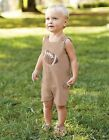 Mud Pie All Boy Collection Football Shortall with Cargo Pockets