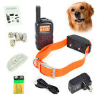 1 /2 /3 pet dog cat 100LV Shock Vibrate Remote Rechargeable Training E-Collar 300m