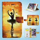 Ballet Wallet Case Cover for Samsung Galaxy S6 7 8 9 10e Edge Plus Note 006