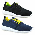 Mens Casual Walking Running Gym Sports Shock Absorbing Lace Trainers Shoes Size