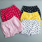 New Infant Baby Girl Newborn Cotton Bottoms Pants Bloomers Shorts Diaper Cover