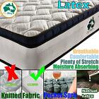 Pocket Spring Premium Belgium Knitted Fabric Natural  Latex Mattress