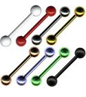 PIERCING HANTEL BARBELL STECKER ZUNGE OHR INDUSTRIAL ANTI-TRAGUS BRUST SEPTUM