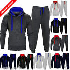 NEW MENS TRACKSUIT SET FLEECE HOODIED TOP JOGGING BOTTOMS JOGGERS GYM TRACKIES