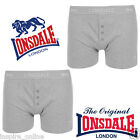 Lonsdale Mens Branded Boxer Shorts Trunks Underwear Briefs S M L Pack of 2 New