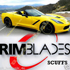 Scuffs By Rimblades Car Tuning Alloy 4 Wheels Rim Protectors Tire Line Rubber