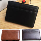 Chic Leather Magic Money Clip Slim Mens Wallet ID Credit Card Holder Case Cool