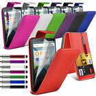 Top Flip PU Leather Phone Case Skin Cover✔Film LCD Screen Protector