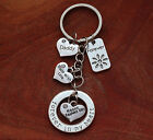 Fathers Day Gift  - Personalised Keyring  Daddy, Dad, Step dad, Granddad