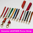Cowhide Genuine Leather Wrist Strap Replacement for Clutch Wristlet Purse Pouch