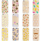 Rubber Pattern Soft TPU Silicone Back Case Cover for Apple iPhone 5S 6 6S Plus