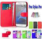 Leather  Book Flip Wallet Case Cover For Samsung Galaxy Trend 2 LITE G318H UK