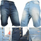 Casual Mens Denim Chino Shorts Summer Jeans Half Pant Cargo Combat Denim roll up