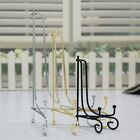 """6""""-12"""" Iron Easel Classic Display Stand Bowl Plate Picture Frame Book Artwork"""
