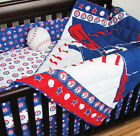 TEXAS RANGERS 4 Piece Crib Set -Comforter,  Bed Skirt,  2 Fitted Sheets,  NO Bumper
