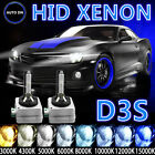 2pcs D3S HID Headlight OEM Xenon Light Replacement for OSRAM or Philips Bulbs