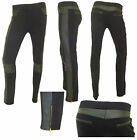 Ladies Jegging Size 8 10 12 14 Pockets Knee Stretchy Plain Trouser Womens
