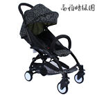 Green Round Pushchair Baby Stroller Lightweight Buggy From Birth Free P