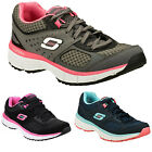 Ladies New Skechers Agility Perfect Fit Memory Foam Gym Trainers 3 4 5 6 7 8