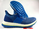 New 9.5 adidas Pure Boost ZG Running Shoes AQ2929 Blue White Mens