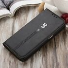New Cowhide Flip Leather Wallet Card Holder Stand Cover Case For Samsung Galaxy
