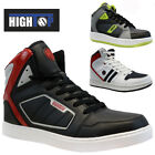 MENS HIGH TOP SAFETY WORK BOOTS MID SOLE STEEL TOE CAP SHOES TRAINERS HIKER SIZE