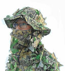 3D tree leaf (leafy) suit, spring-color camo, full body cover, inner mesh layer