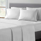 6 Piece Egyptian Comfort 1800 Thread Count Deep Pocket Bed Sheet Set - 12 Colors image