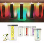 The romantic smell 5 various scented mood Light LED CANDLE moving color change