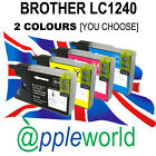1 BLACK Ink Cartridge compatible with LC1240 /LC1280 [not Brother original]