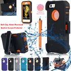 Shockproof Defender Case Heavy Duty Belt Clip Holster Kickstand fr Apple 5 SE 5s