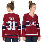 Reebok Carey Price Montreal Canadiens Womens Red Premier Player Jersey NHL