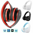 Hot Foldable Wireless Bluetooth Stereo Headphone Earphone Headset for Smartphone