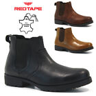 MENS RED TAPE LEATHER SMART WEDDING ITALIAN FORMAL OFFICE DRESS WORK SHOES SIZE