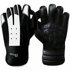 Leather Wicket Keeper Gloves Cricket Keeping Keepers Grippy Palm BOYS,MENS,YOUTH