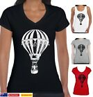 Hot Air Balloon Ballooning Vintage Picture Aussie men's Ladies Funny T-Shirts