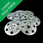 Insulation Washers For Wall & Floor Board Galvanised Metal Fixing Disks Discs