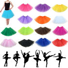 Womens Dancewear Tutu Pettiskirt Princess Party Skirt Mini Miltu Dresses Nice