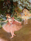 Edgar Degas canvas print Dancer on the stage giclee 8X12&12X17