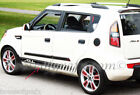 Strobe style rocker stripe stripes decal decals fit any model 2010 & up Kia Soul