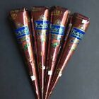 NATURAL KAVERI BROWN HENNA CONES TEMPORARY TATTOO BODY ART INK CHOOSE QTY