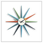 George Nelson Sunburst Clock -- Authentic, in multiple designs -- by Vitra