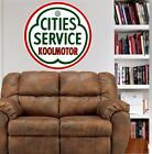 Cities Service Koolmotor Gas Oil Repro WALL DECAL MAN CAVE MURAL PRINT